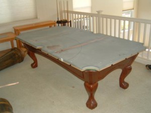Proper pool table moving process in Alexandria Louisiana