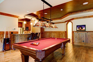 Recommended pool table room sizes
